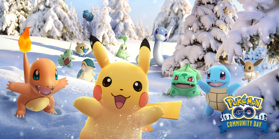 Pokemon GO's December Community Day Reprises Specials