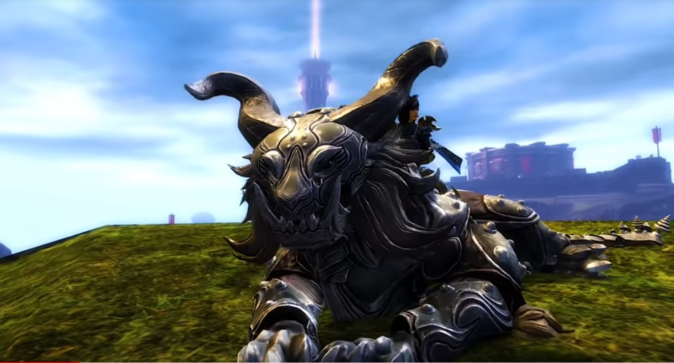 Guild Wars 2 Video Previews Warclaw Mount