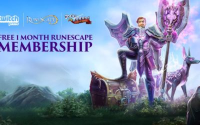 RuneScape Partnering with Twitch Prime for Rewards