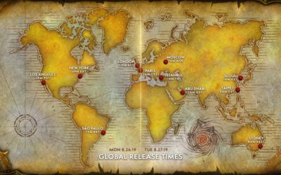World of Warcraft Announces Classic Launch and Test Dates